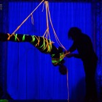 Mosafir and Kristi shibari show by Marcus